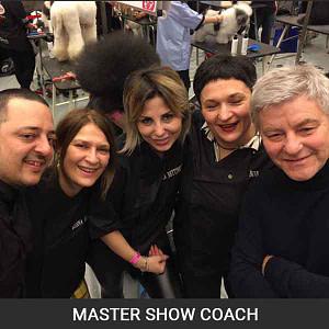 Luca Stegani coach Master Show